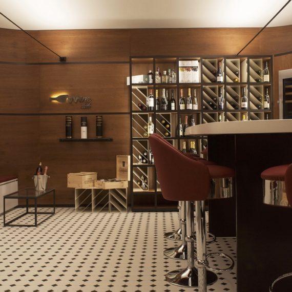 Emfa Studio – Progetto vineria Wine Club