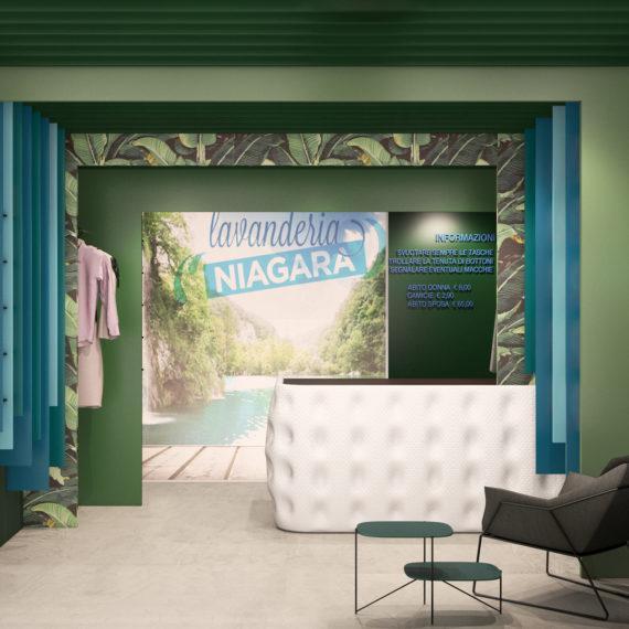 Emfa Studio – Progetto franchising lavanderie Niagara